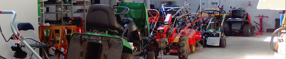 Réparation et entretien de votre matériel de jardin : tronçonneuse, taille-haie, tondeuses, motoculteur...